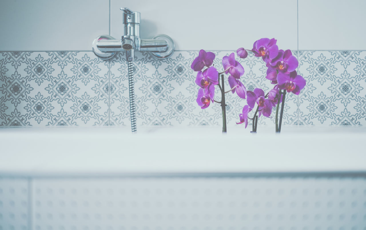 Bathroom Blooming Flower Cozy Cozy At Home Cozy Moments Cozytime Lifestyle No People Orchid Pink Pink Flower Washroom Wellbeing Wellness