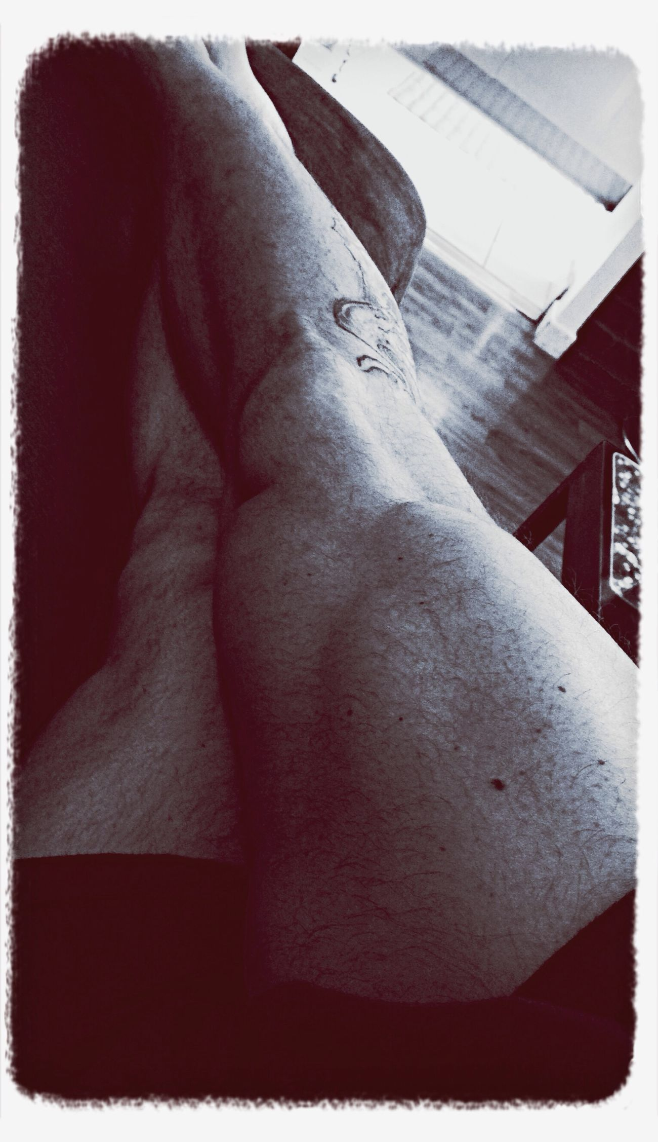 Sport Effort Determine Piscine #Futsal #Cuisse #Muscle #Tatoo #Tatouage #Cache !!