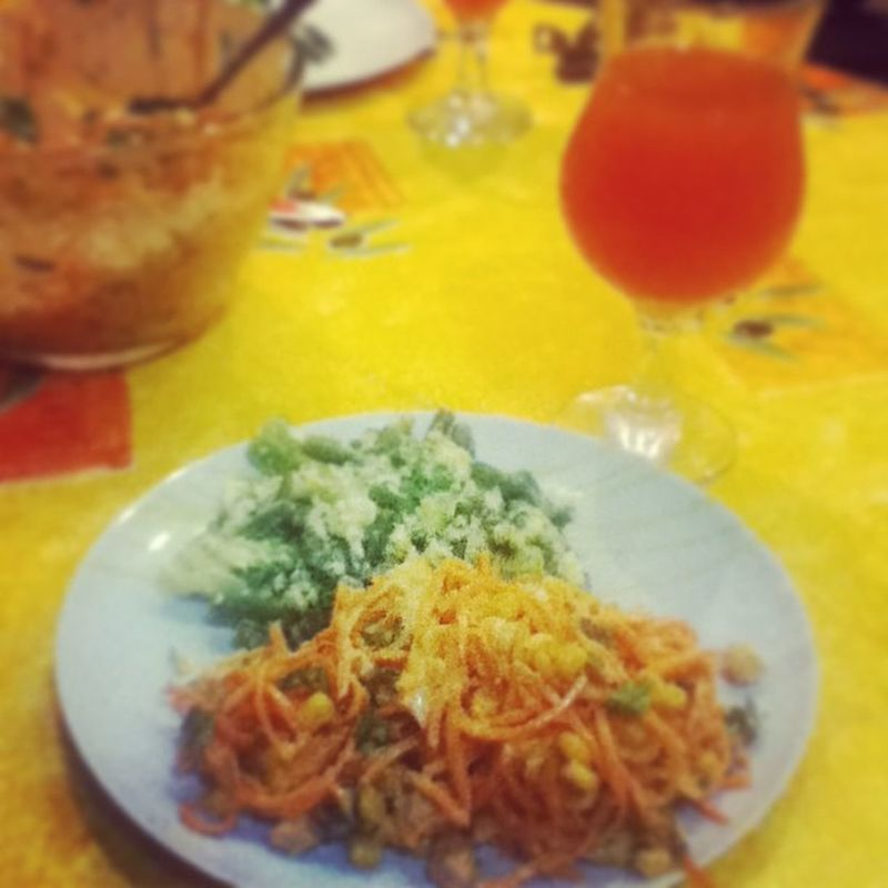 Че по здоровому питанию?? брокколи морковь грейпфрут