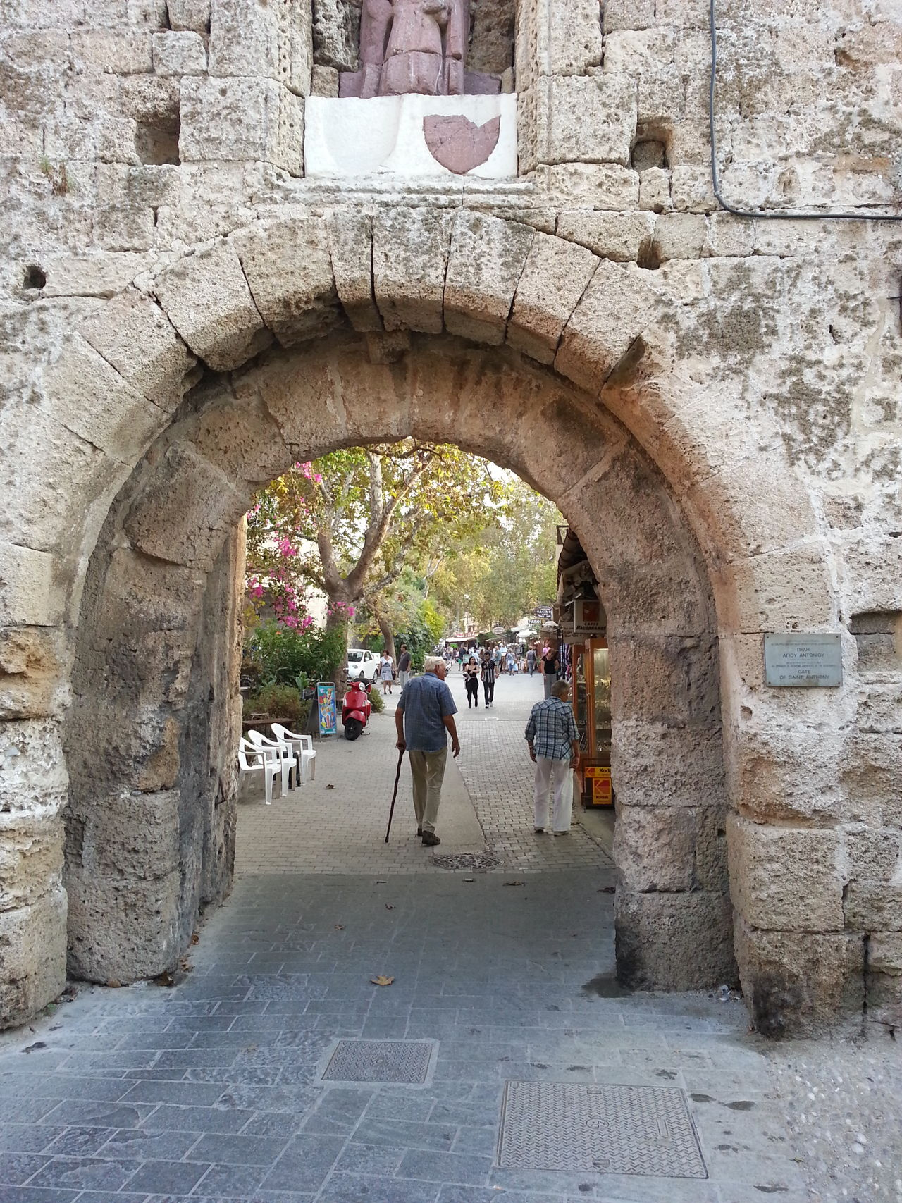 Old city Rhodos