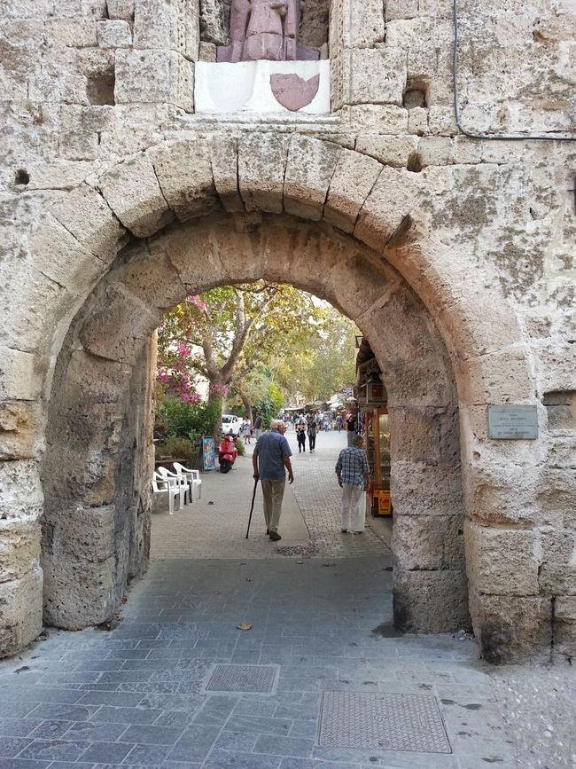 Old city Rhodos