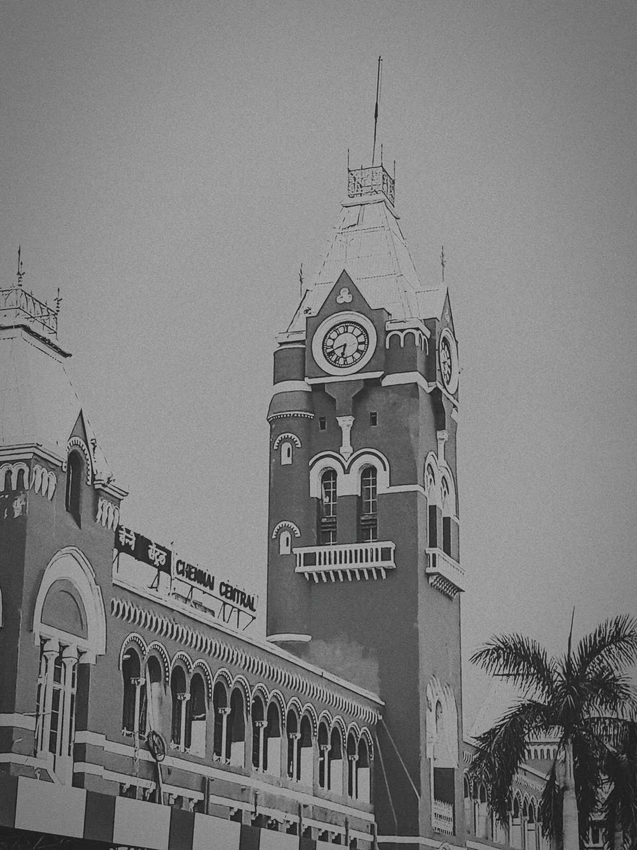 #vintagetry.. EyeEmNewHere Trainstation Architecture Built Structure History Building Exterior Outdoors Travel Destinations AI Now