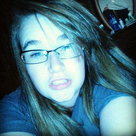 Just because i am bored! :P Bordom Like Follow Hey  Glasses BlueEyes