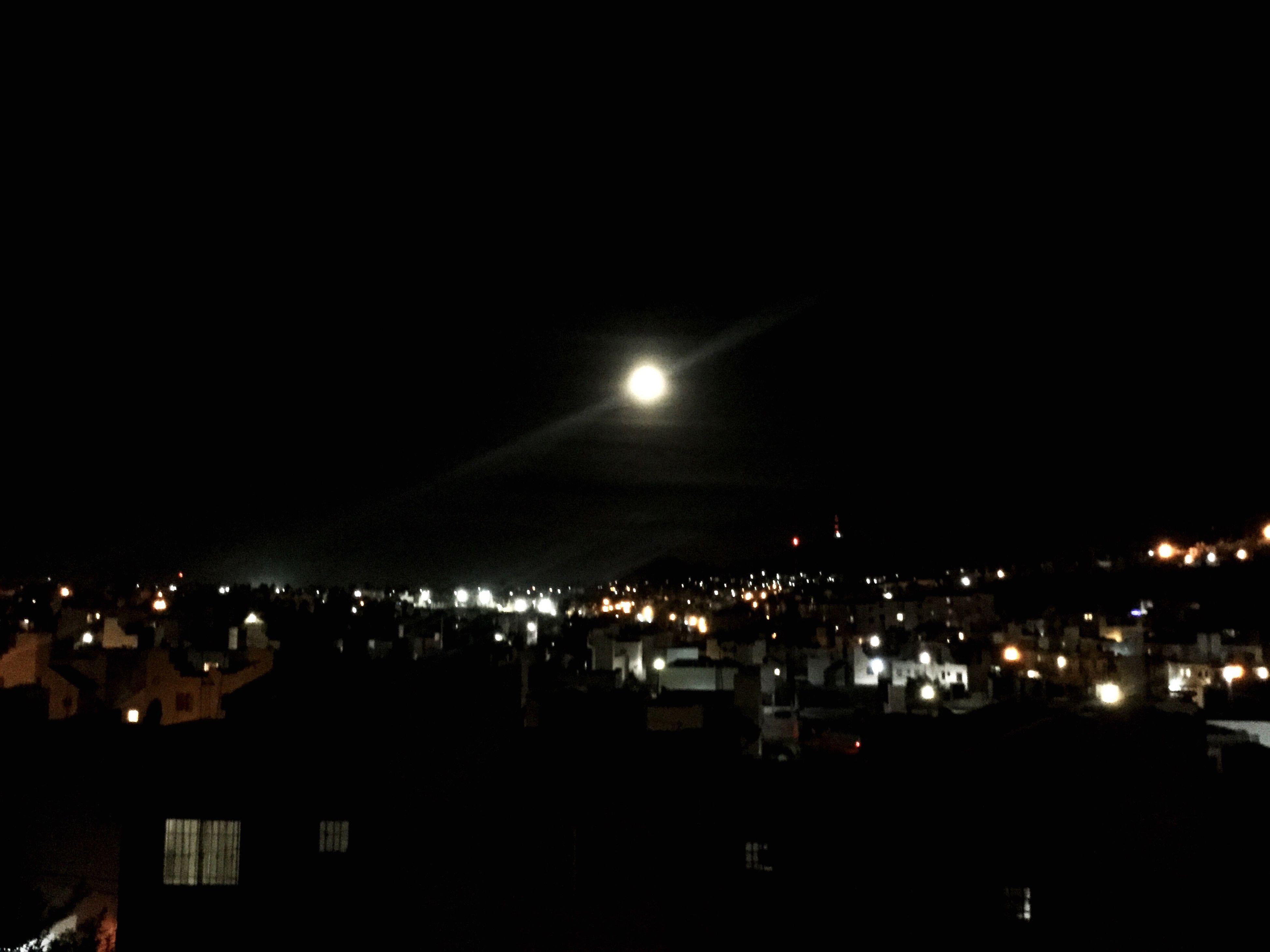 night, illuminated, no people, sky, outdoors, nature, astronomy