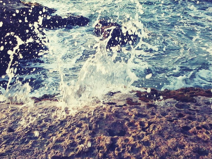Sea Wave Water Outdoors Beauty In Nature Power In Nature Splahes EyeEmNewHere