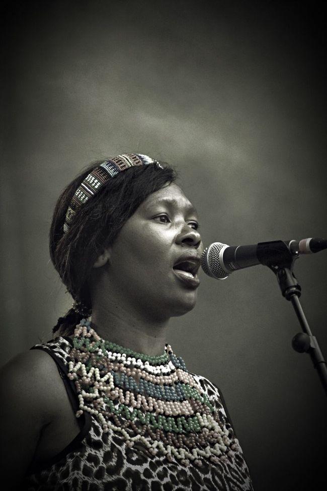 Singer  Music Mela Festival Zulu Culture Traditional Headshot Nikonphotography Nikon