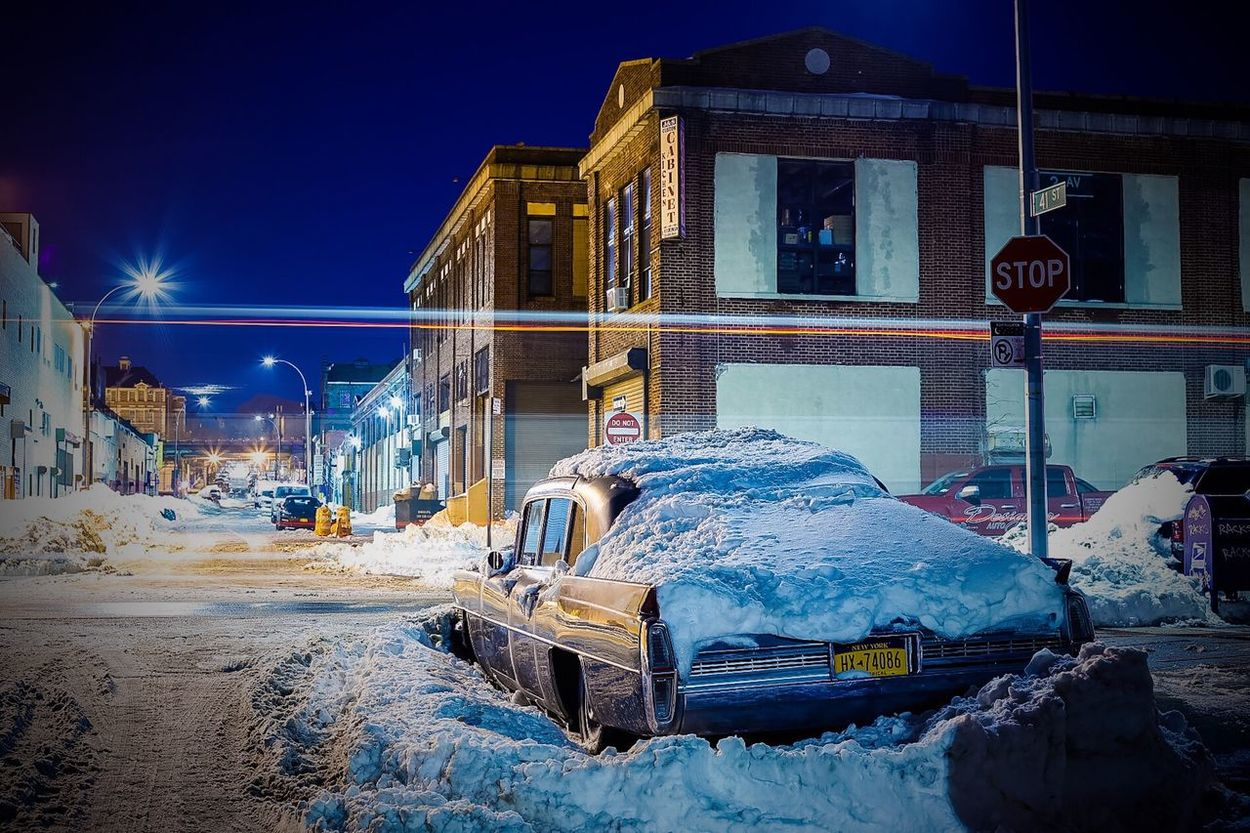 Learn & Shoot: After Dark Nightscape Night Cityscapes Nightphotography Eyeemphotography EyeEm New York City NYC Photography NYC Long Exposure Sunsetpark Brooklyn Car Snow Photography Photographer ShawnBaz