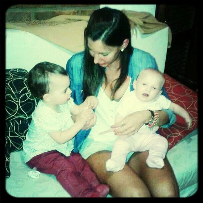 Les plus petites de ma famille... Je les aime beaucoup !! ♡