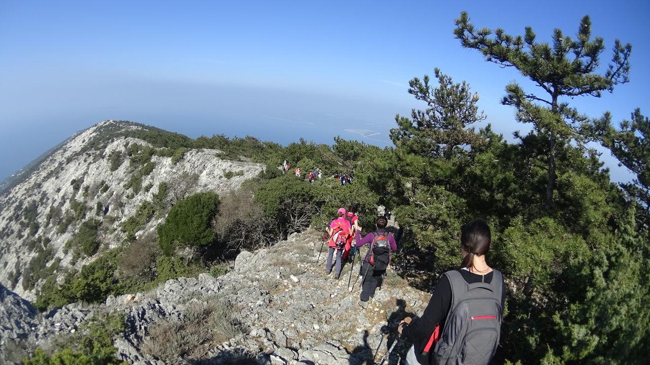 Beauty In Nature Croatia Hiking Island Hike Mediterranean  Mountain Nature Rock - Object Scenics Sky