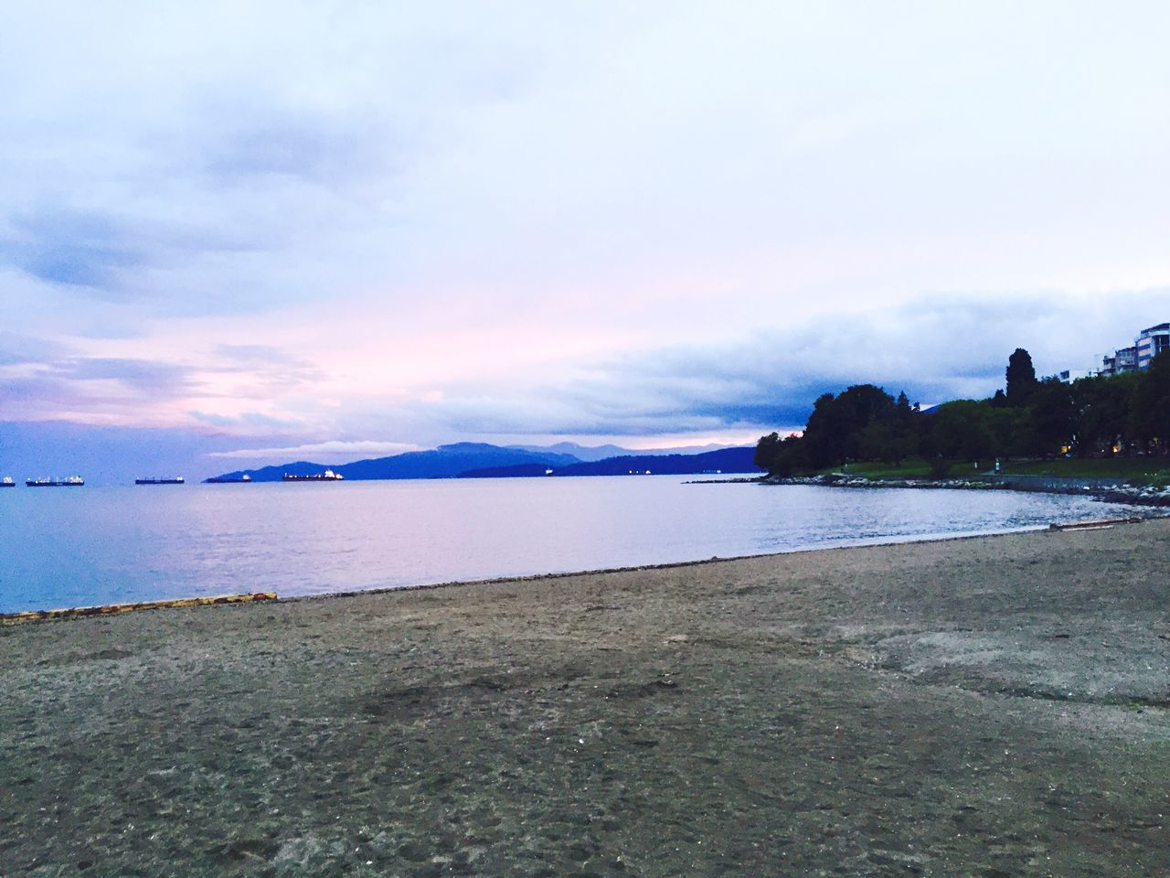 Inspirational Check This Out Hanging Out Hello World Relaxing Taking Photos Enjoying Life Vancity Vancouver Sunrise Beautiful Beach Colors Clouds And Sky Other Perspectives Taking Photos Walking Around