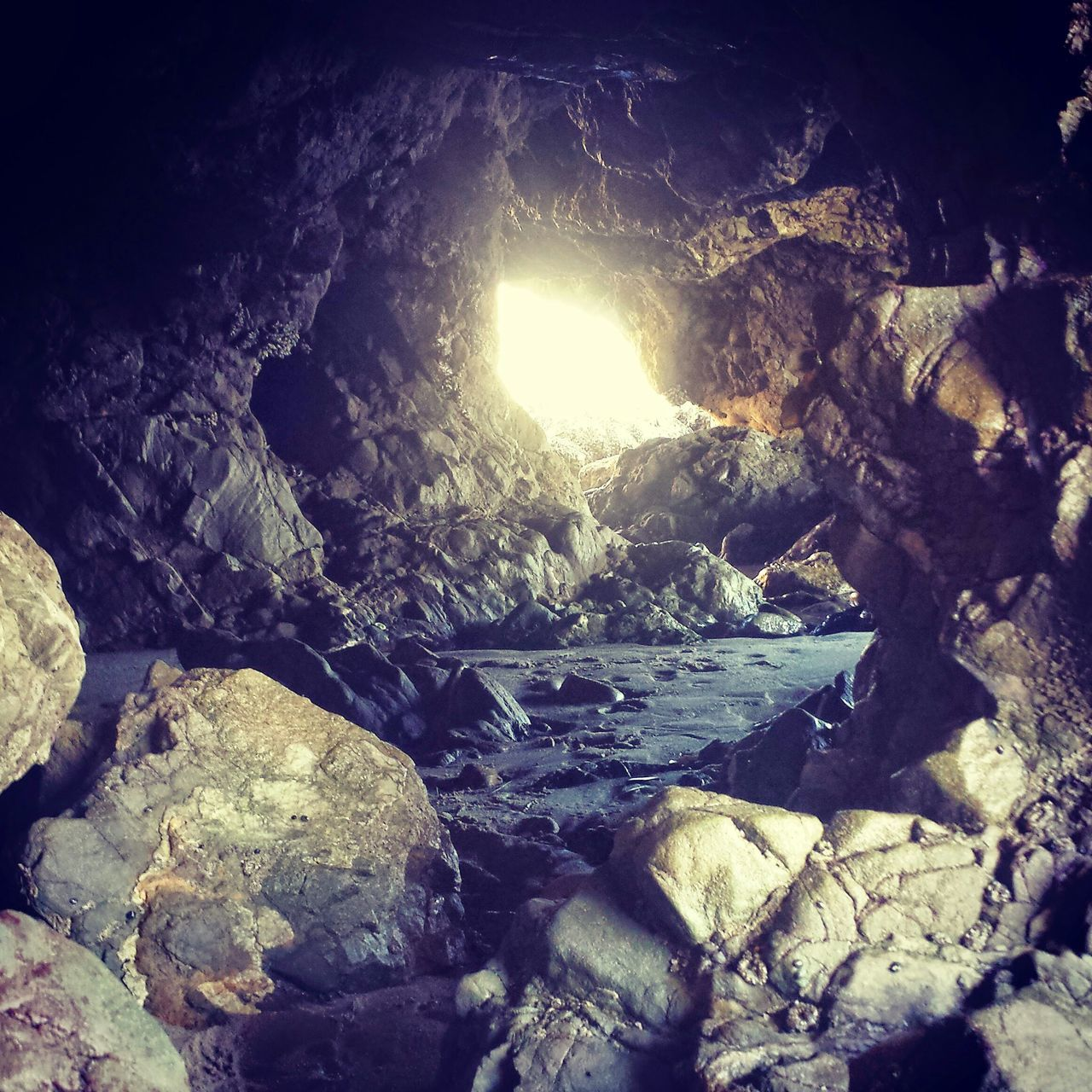Leo carrillo Beach Cave Natures Diversities