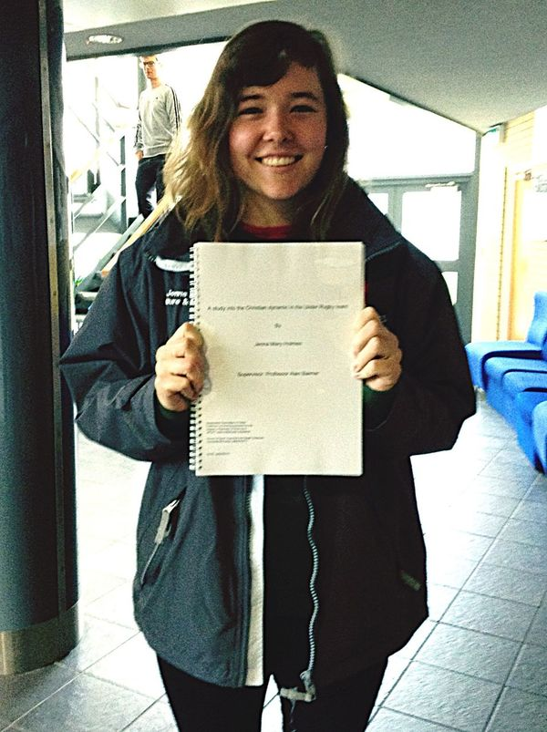 The dissertation is complete Dissertation Final Year