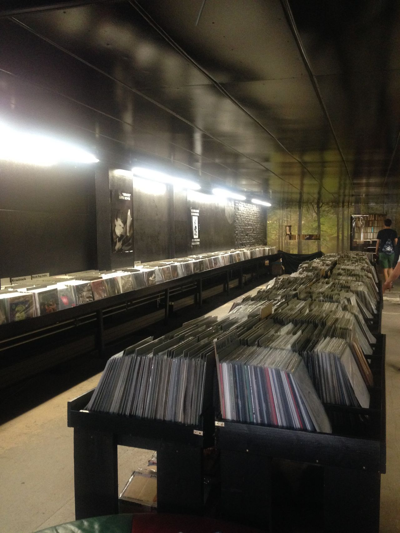 Record store in Berlin Berlin Indoors  Music Music Shop No People Record Record Shop Records Turntable Underground Vinyl Vinyls