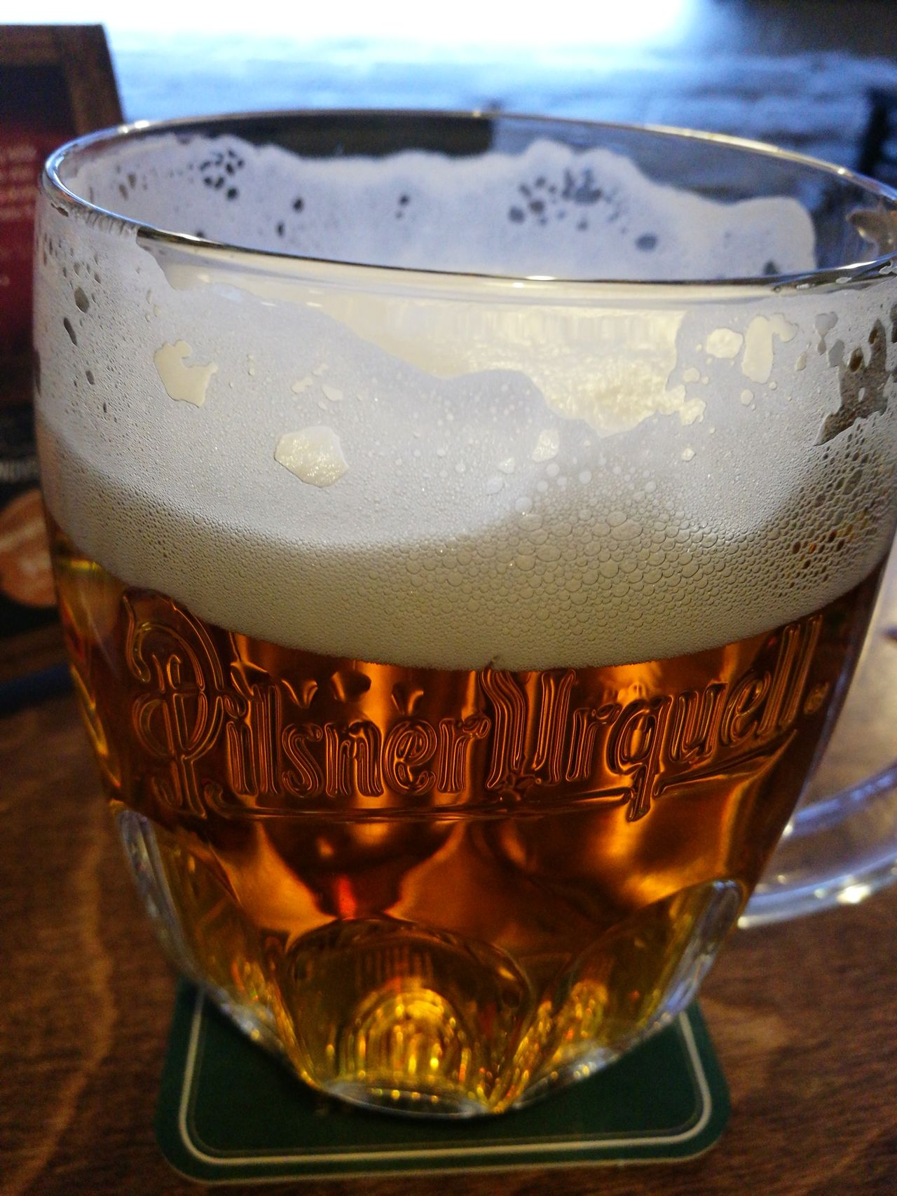 Drink Drinking Glass Alcohol Beer Glass Food And DrinkBeer Froth Czech Republic🇨🇿 Love Photography Good Night, Sweet Dreams Frothy Drink Refreshment Freedom Saturdaynight Cold Temperature Indoors  Relaxing ♥ Pilsner Urquell