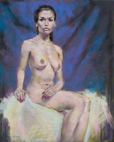 Soft pastel Beauty Art Drawing Painting