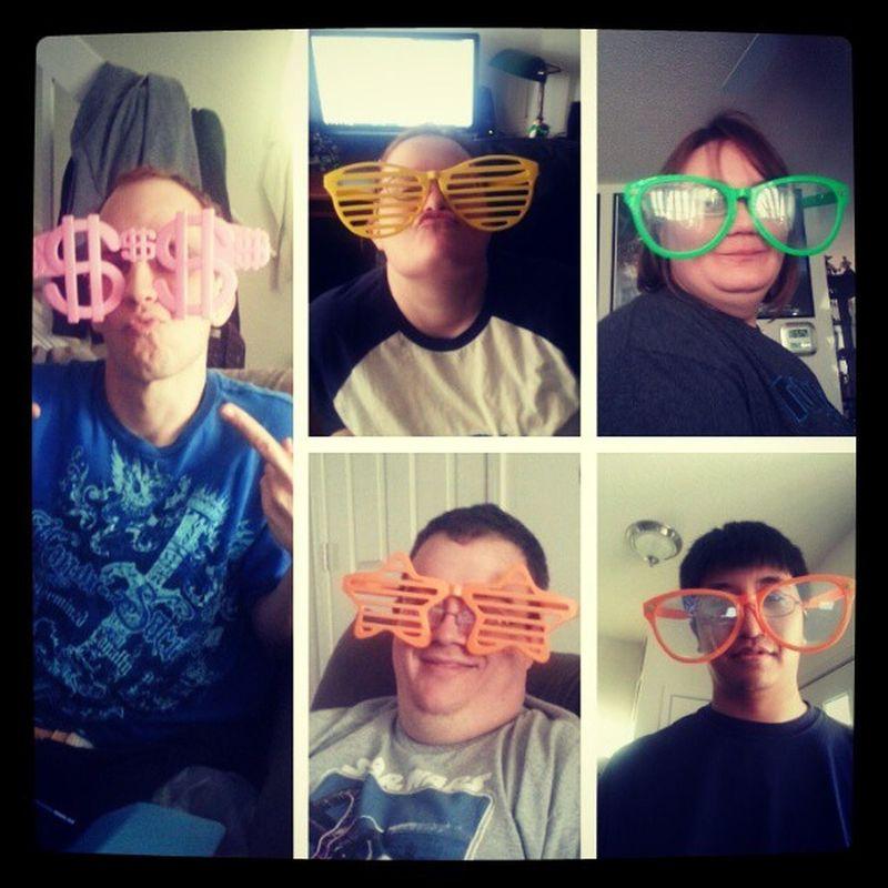 And my fun weekend begins! With @quiethenry29 @reesharded. Bff Funweekend Bigglasses