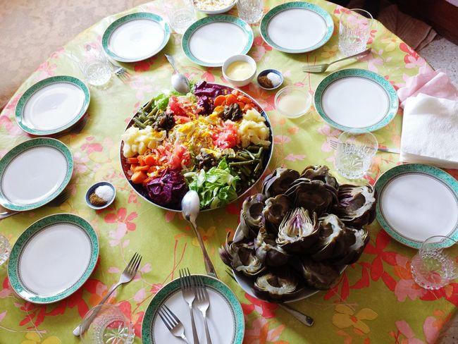 Oujda Morocco Salad Food Moroccan Food Vegetables Tasty Lunch