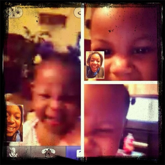 Me And Alaijah On Tango Her Goofy Self