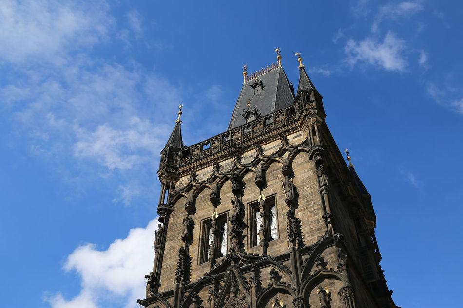 Beautiful stock photos of prague, low angle view, sky, architecture, building exterior
