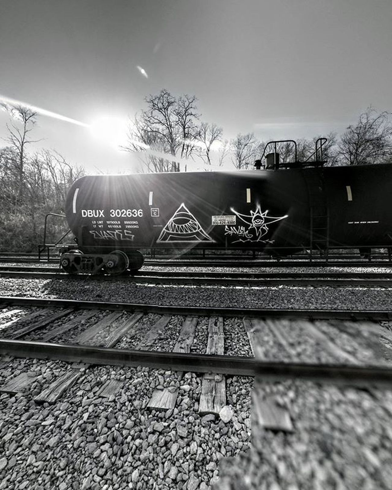 Bnw tankercar....... Ks_pride Atchison Atchisonks Atchisontopekaandsantaferailroad Kansas Kansasphotos Kansastrains Trains Trains_worldwide Trainsgram Trainsofinstagram Trainart Trains_r_the_best