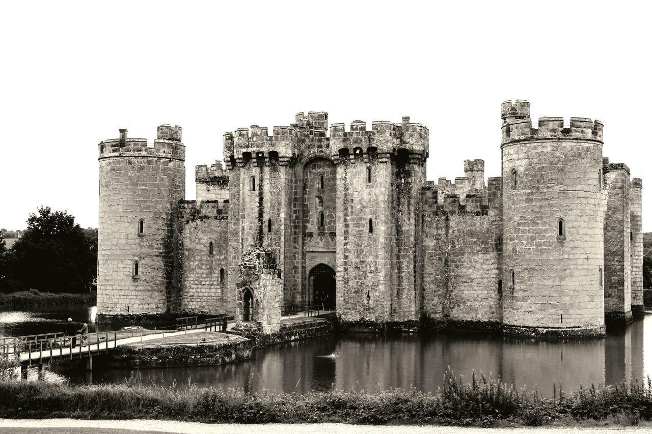 Bodiam Castle 1365 Architecture Built Structure Building Exterior History Castle Water Outdoors Day Travel Destinations No People Sky