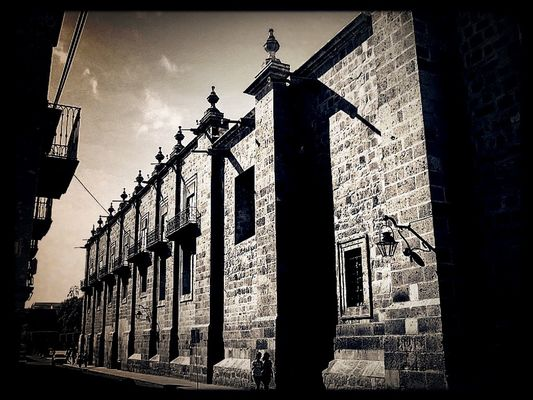 blackandwhite at Morelia by alberto gómez