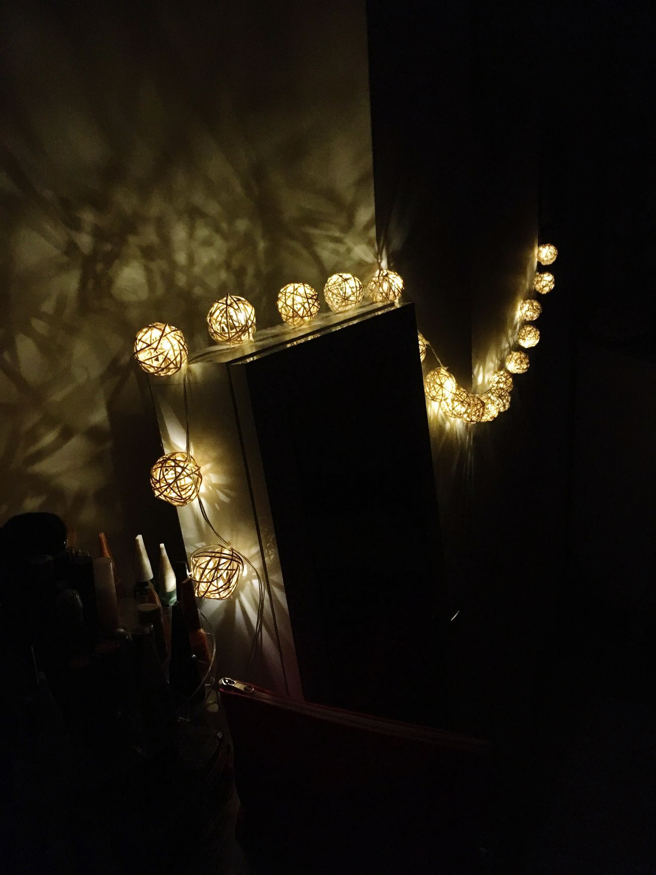 Lighting Equipment Illuminated Night No People Indoors  Close-up Bedroomlight Romantic Light And Shadow