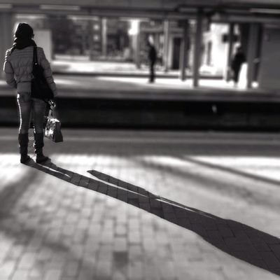 shadow at Metro Gorgonzola (M2) by Fabio @sikander63