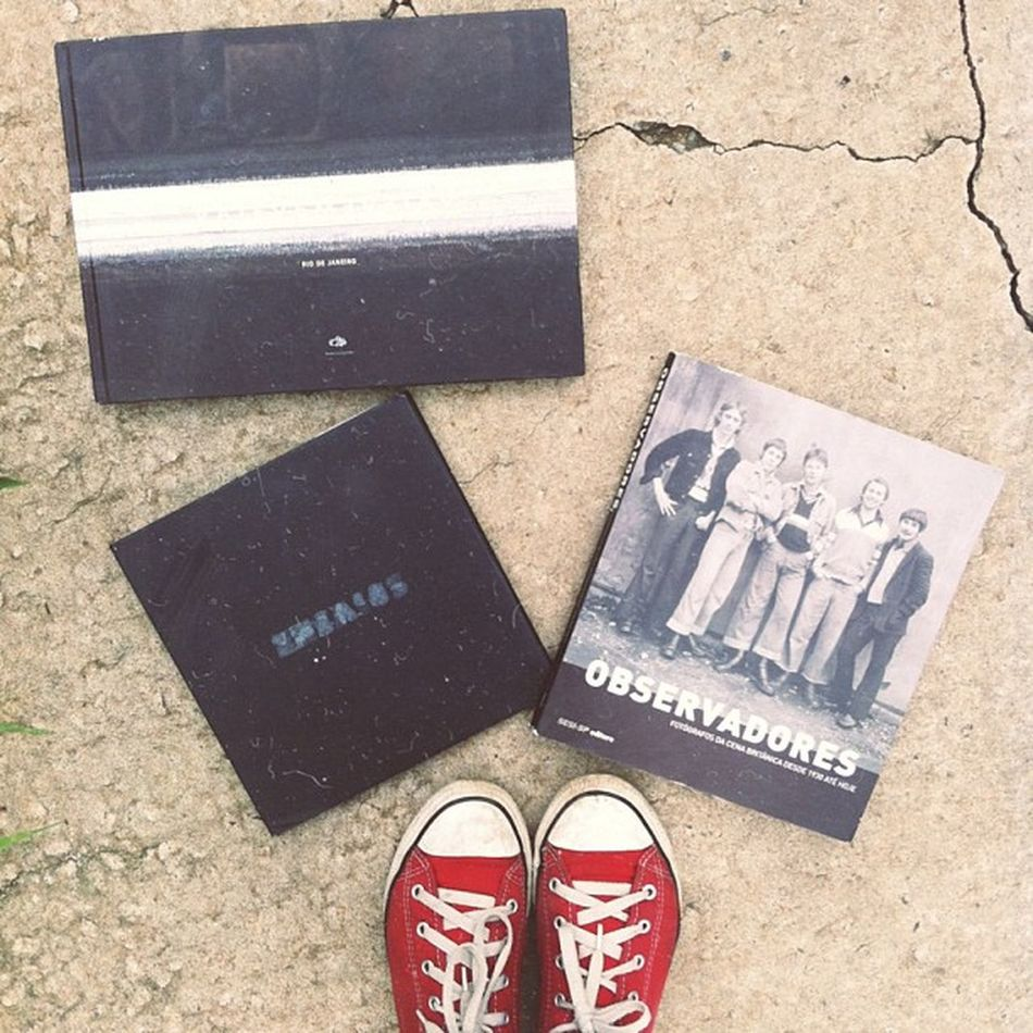 Felicidade é comprar 3 livros de fotografia por 20$