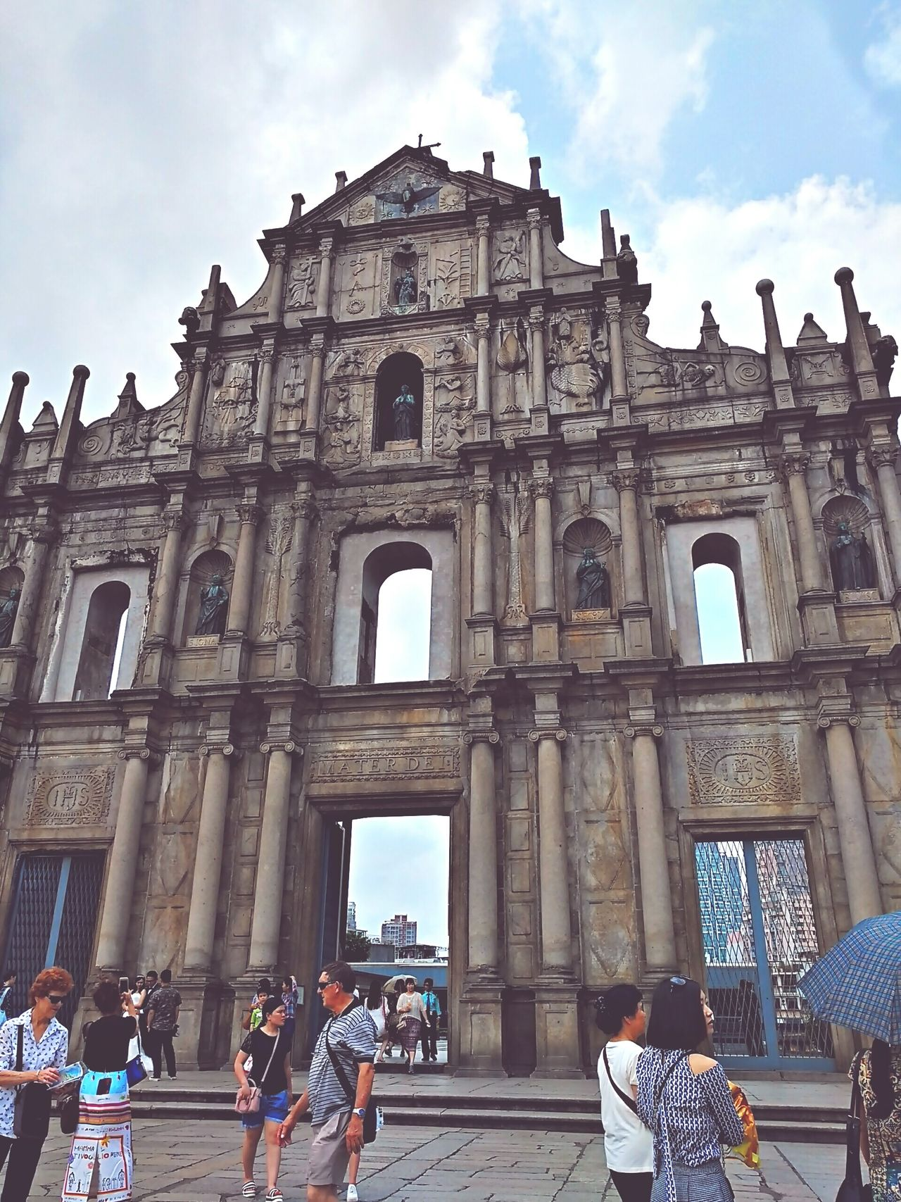 Taking Photos at Macau. Great weather and view.