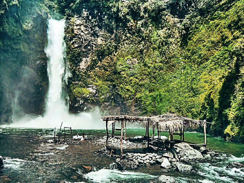 The gushing cold waters of Tappiya Waterfalls in Batad, Banaue, Philippines. Batad Beauty In Nature EyeEm EyeEm Nature Lover EyeEmNewHere Nature Outdoors Philippines Scenics Tappiya Falls Tranquility Travel Travel Destinations Travel Photography Water Waterfall EyeEmNewHere