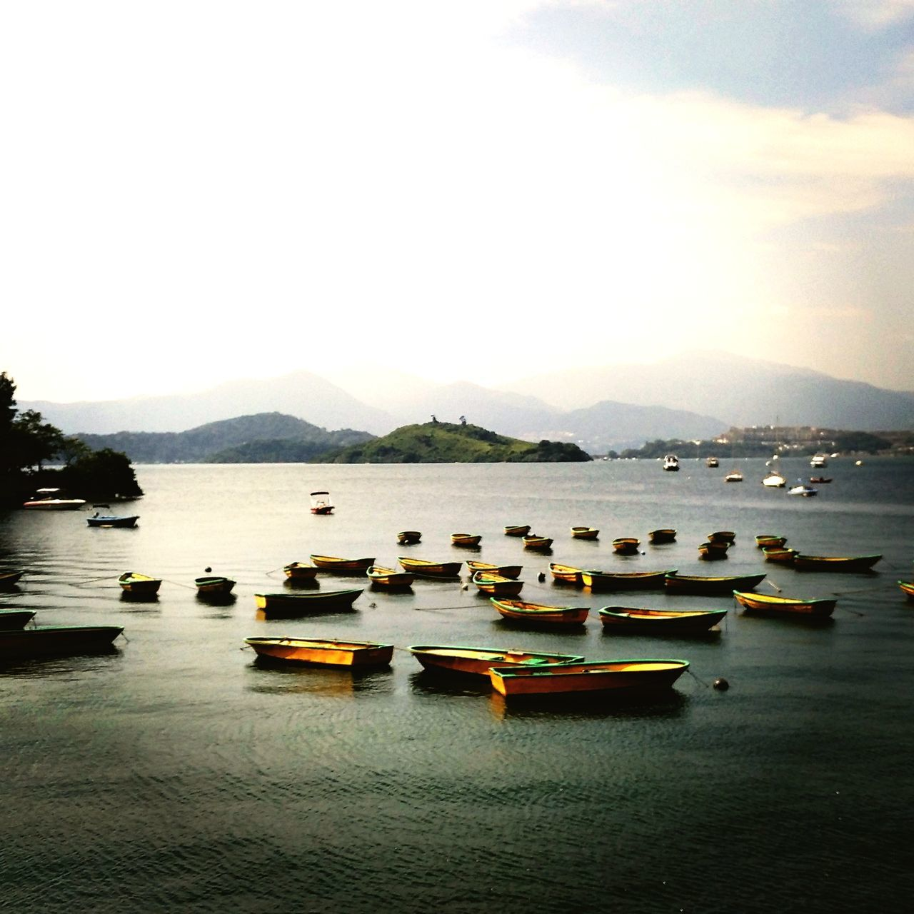 Water Nautical Vessel Mountain Tranquil Scene Tranquility Scenics No People Nature Landscape Sea Travel Destinations Outdoors Day Beauty In Nature Sky Hong Kong Tai Po Hong Kong Nature Hong Kong Nature Trail Breathing Space