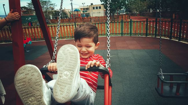 The Portraitist - 2016 EyeEm Awards Children Photography Little Boy My Son Playing Having Fun Enjoying Life Loughing Swinging Playground Life In Motion Kidsphotography Childsplay Childhood From My Point Of View Close-up Boy Child Lifeisbeautiful Smile Malephotographerofthemonth Found On The Roll