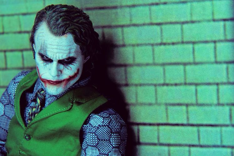 Why so serious! Action Figures The Joker Toys Toy Photography