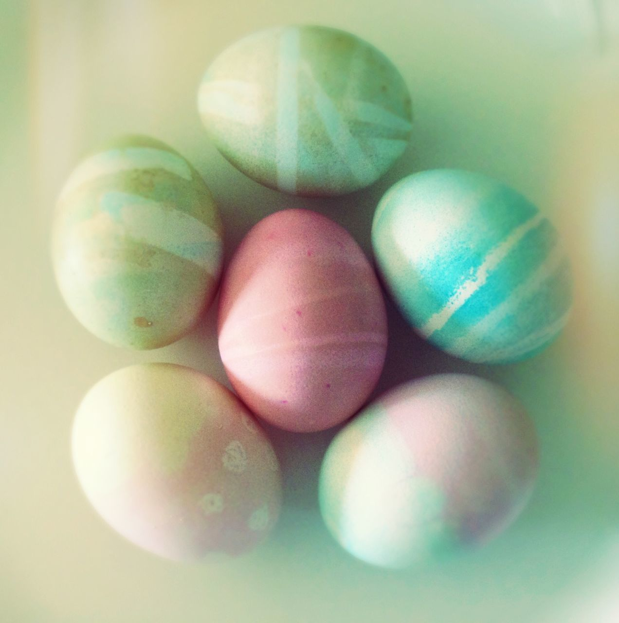 easter, multi colored, easter egg, egg, studio shot, indoors, no people, close-up, pastel colored, food, white background, day