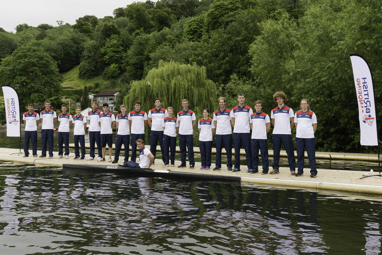 2015 British Canoeing Marathon team Athletes British Canoe Marathon Team Canoe Canoeing K2 Men Pontoon River Thames Team