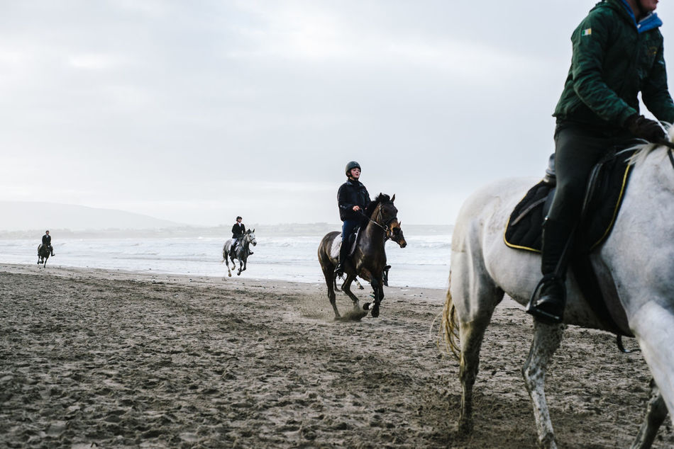 St.Stephens day horse riders in Strandhill Adult Beach Christmas Documentary Photography Dreaming Horse Horseback Riding Ireland Ireland🍀 Landscape Melancholic Landscapes Multi Colored Near Far Rockaway The EyeEm Facebook Cover Challenge Outdoors Riding Strandhill Sli Travel Water Winter