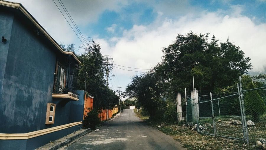 There's beauty everywhere View Clouds Street Beautiful