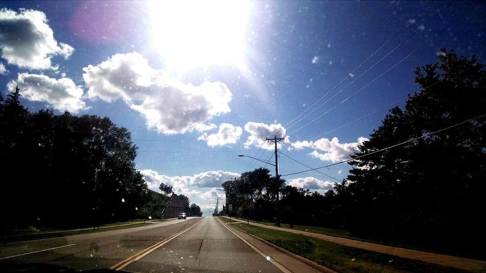 Enjoying Life Minnesota Hello World Drivingshots Sky Clouds Nature Beautiful