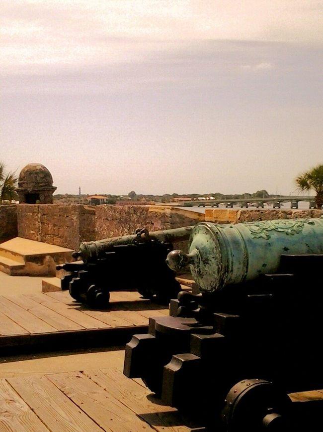 St Augustine Remebering My Trip Cannons The Traveler - 2014 Eyem Awards