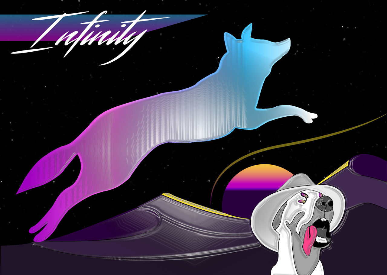Astrology Sign Awesome Check This Out Dog Dog Love Fox Foxy Fox🐺 Hello World Illustration Infinity Jump Jumping Night No People Outside Phantasialand Phantasy Retro Retro Styled Space Star - Space Sunrise That's Me Vaporwave