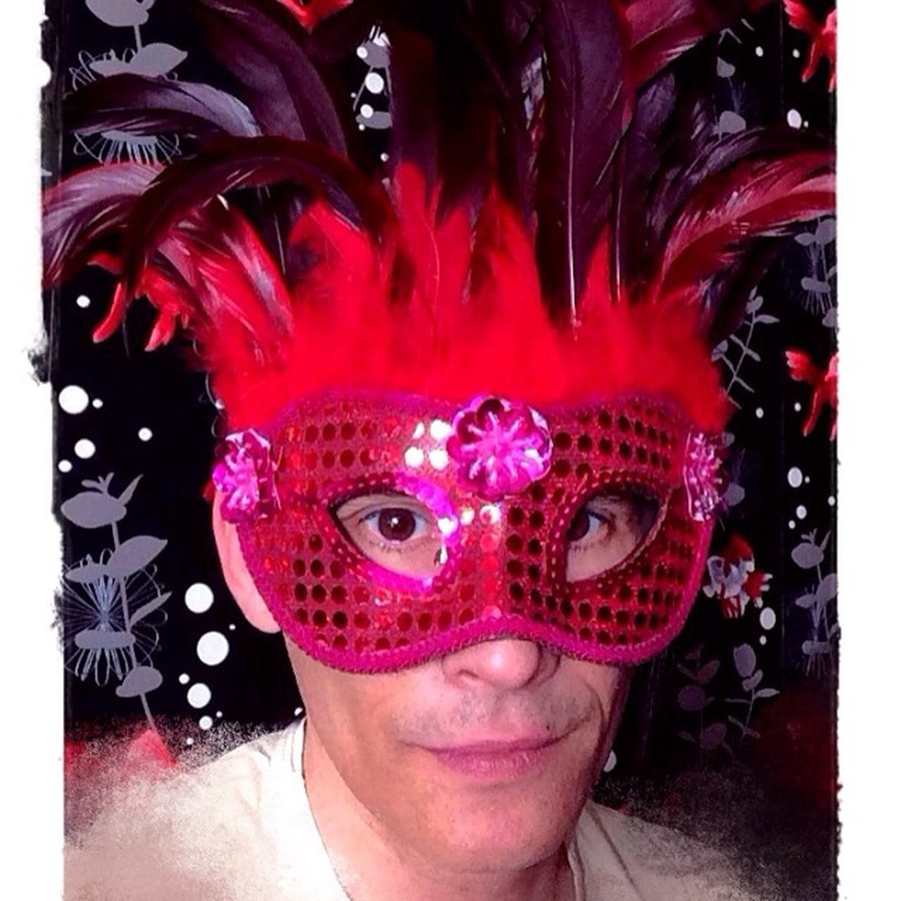 "Here I am. Masquerade. 9.2.2014. Masquerade Karneval Maske  Gaga Frankfurt Pic Me ""pic of the day"""