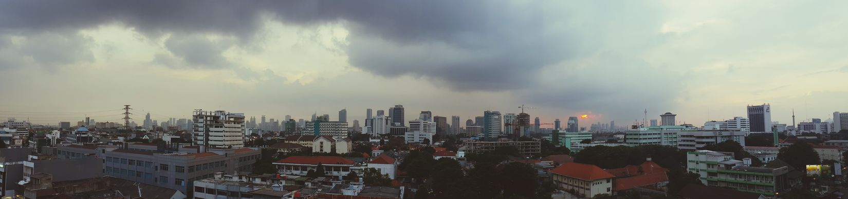 Jakarta,in the afternoon