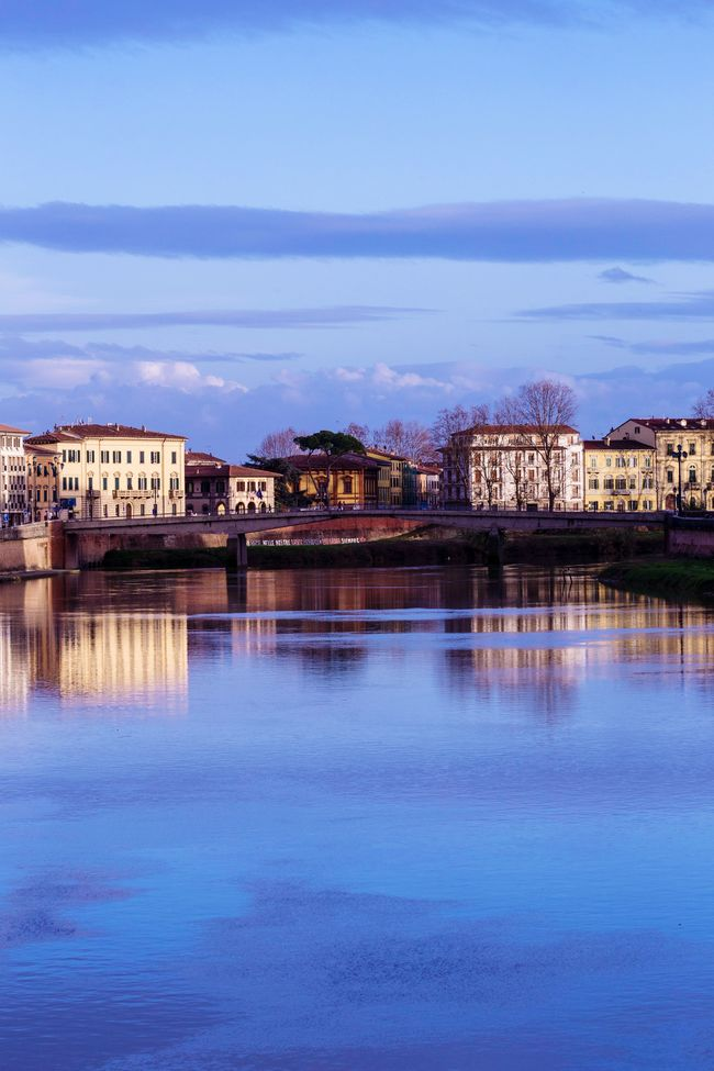 Reflections Water Arno  Pisa Tuscany Italy City Sky Holiday Canon Love Colorful Tree Italian Photography Colors
