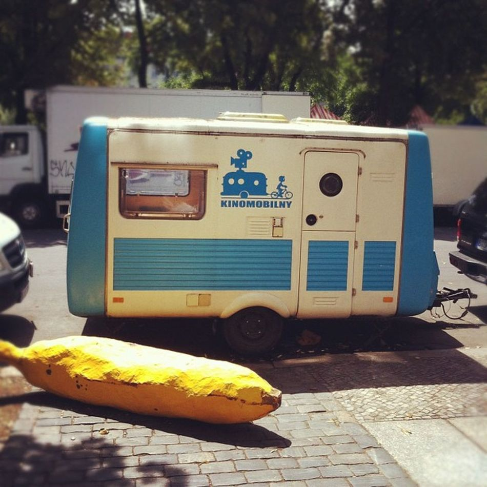 Sorry, is this your banana? #thesleeper #banana #berlin Berlin Banana Thesleeper