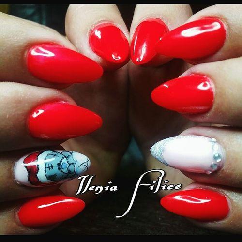 Ricostruzione Unghie Nail Gel Gelnails Indigo Colour Gelpolish Red Fireman Littlepink Decoration Orsetto Franch Glitter Love