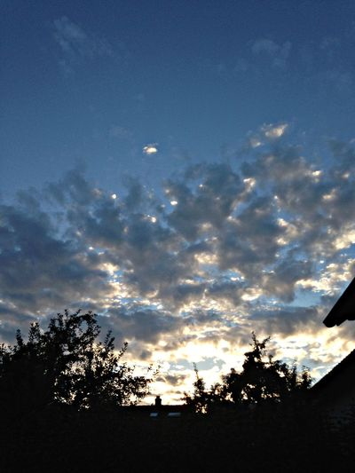 Clouds And Sky Sunset lazy evening Limmattal