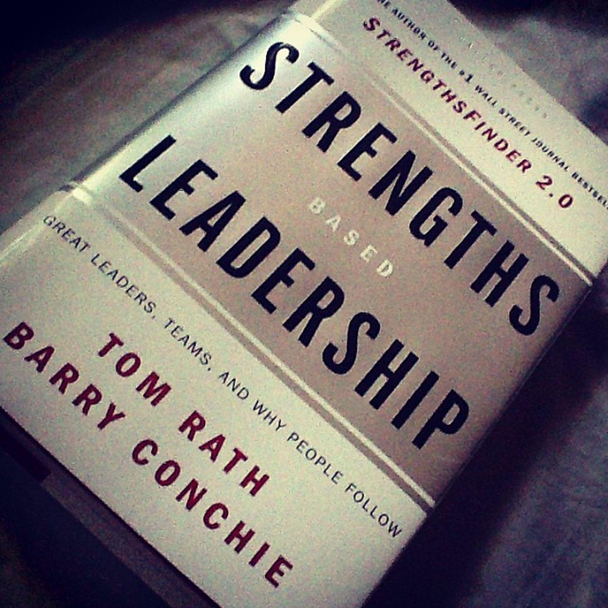 First book this sembreak! StrengthsBasedLeadership