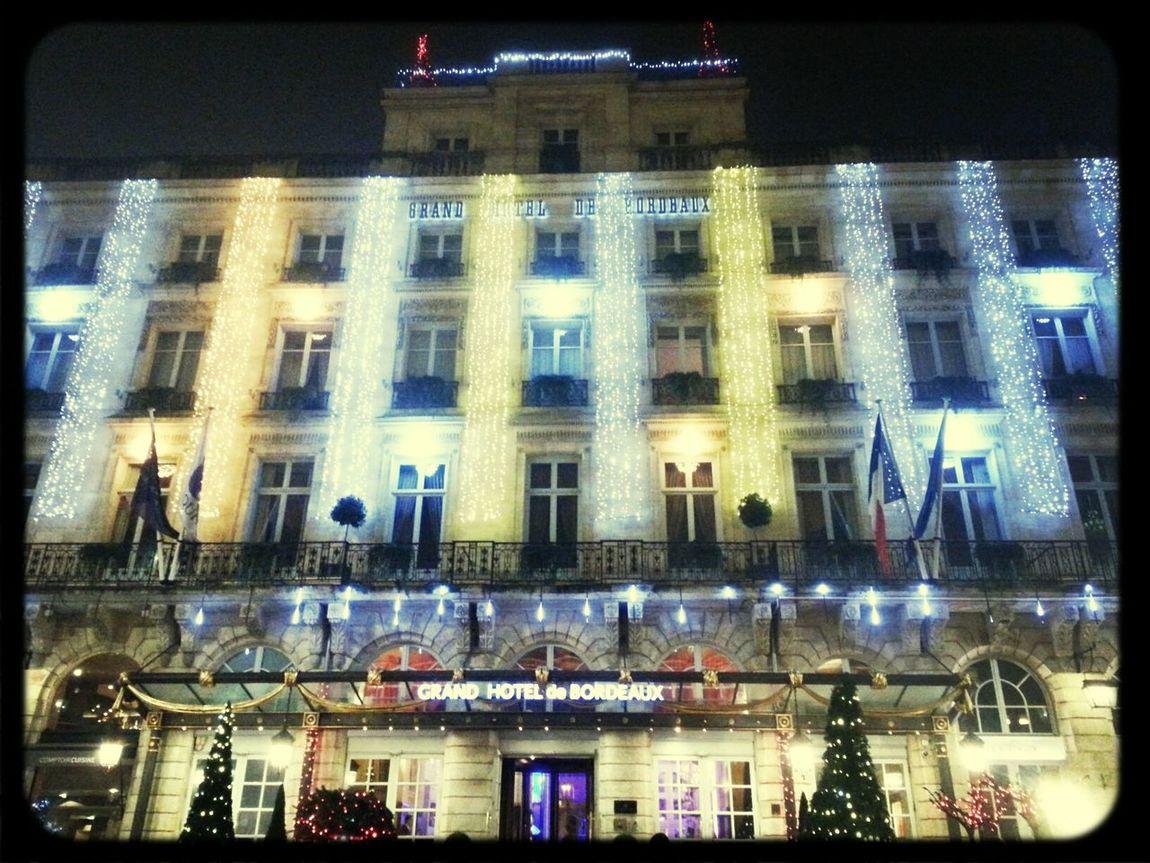 Noël Santa Clauss Is Coming To Town Illumination