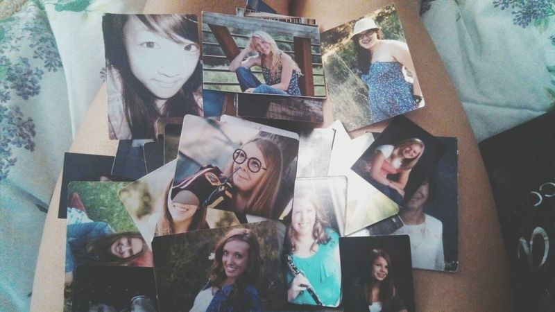 hoarding pictures of all my friends in my wallet